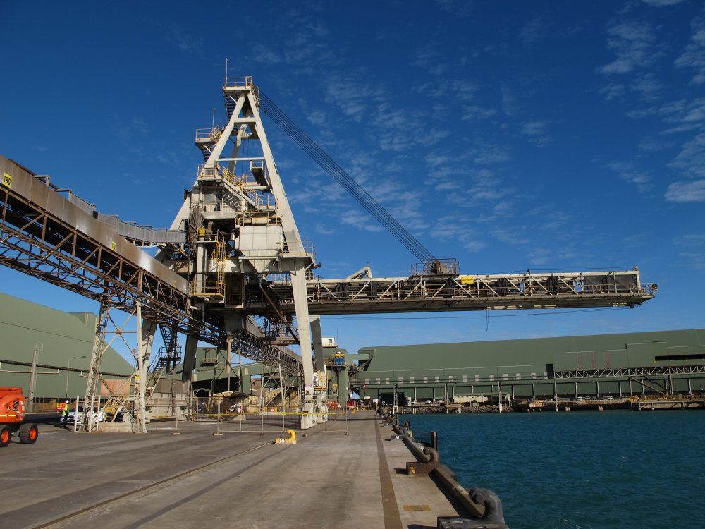 Shiploader Upgrade at Geraldton Port